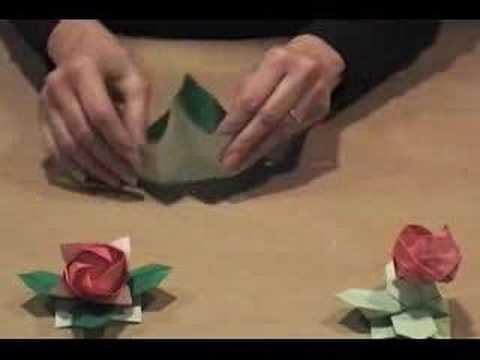 Origami Kawasaki Roses | Gilad's Origami Page | 360x480