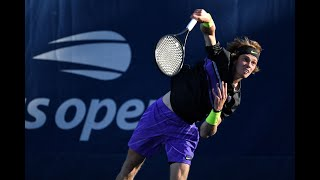Andrey Rublev vs. Gilles Simon | US Open 2019 R2 Highlights