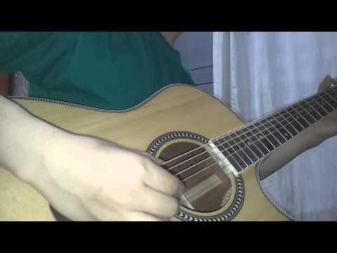 Hatsune Miku & Megurine Luka - World's End Dancehall on guitar