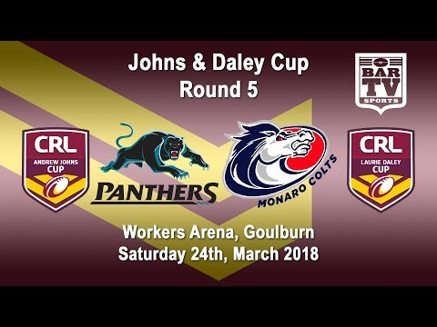 2018 CRL - Andrew Johns and Laurie Daley Cups - Round 5 - Penrith Panthers v Monaro Colts