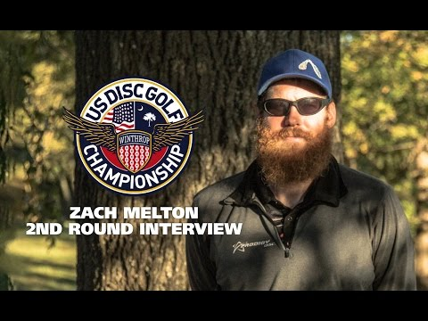 USDGC 2015 2nd Round Interview - Zach Melton