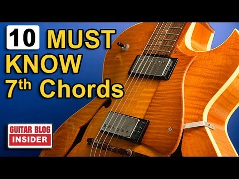 """Ten """"DIFFERENT"""" Must Know 7th-Chords"""