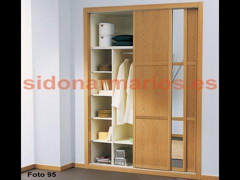 Puerta armario melamina roble y espejo con 2 separadores for Armario puerta espejo