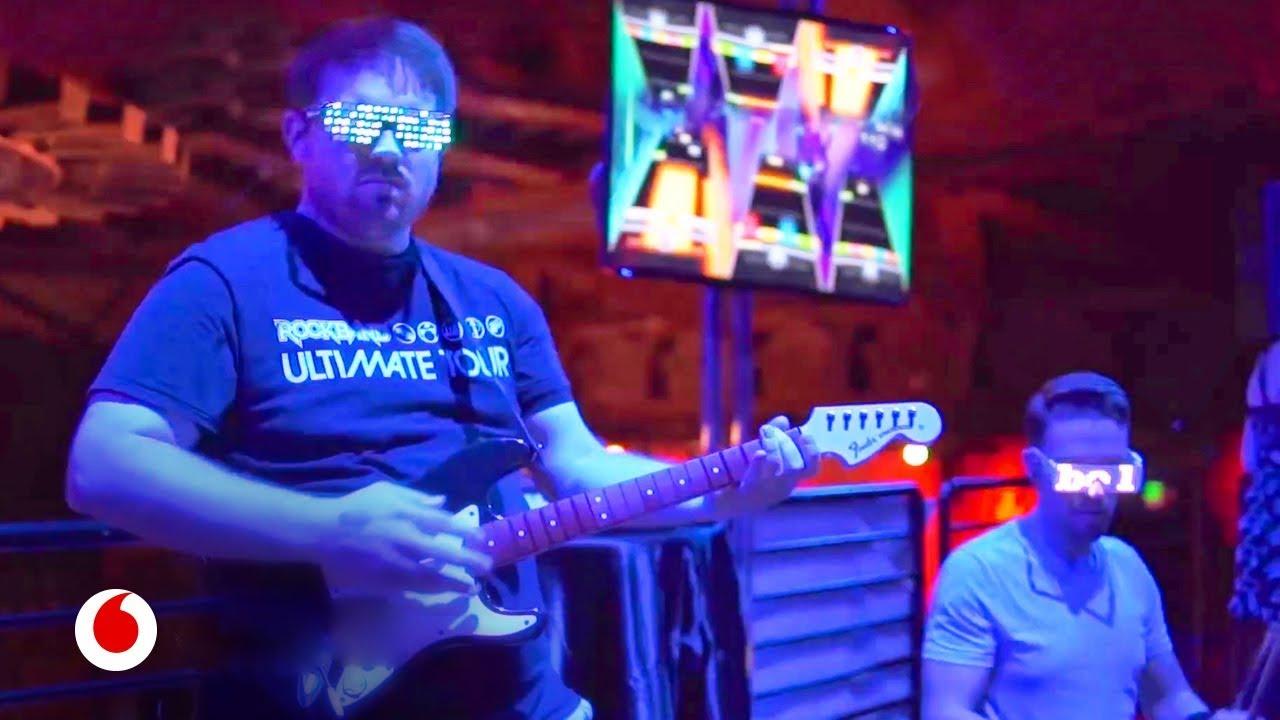El videojuego de realidad virtual para convertirse en una estrella del rock
