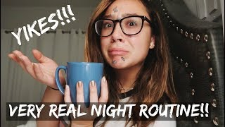 MY VERY REAL NIGHT ROUTINE!!