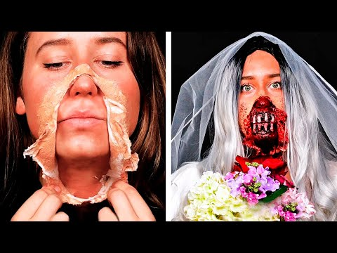 31 SPOOKY HALLOWEEN MAKEUP AND SCARY DIY COSTUMES