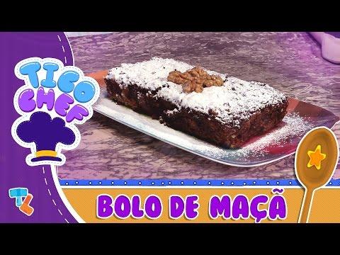 TICOCHEF | MAGIC RECIPE: APPLE WALNUT CAKE #Ticolicos