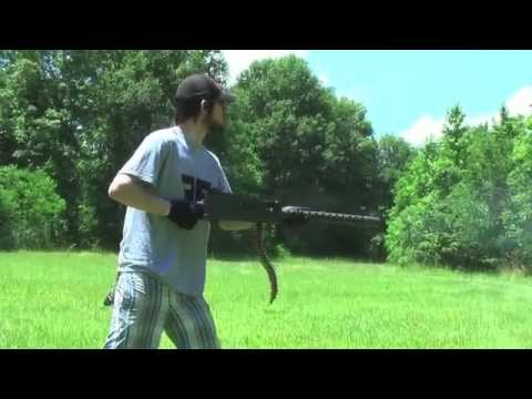 Browning M1919 Shooting Technique