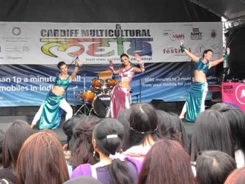 Modern Bollywood dance