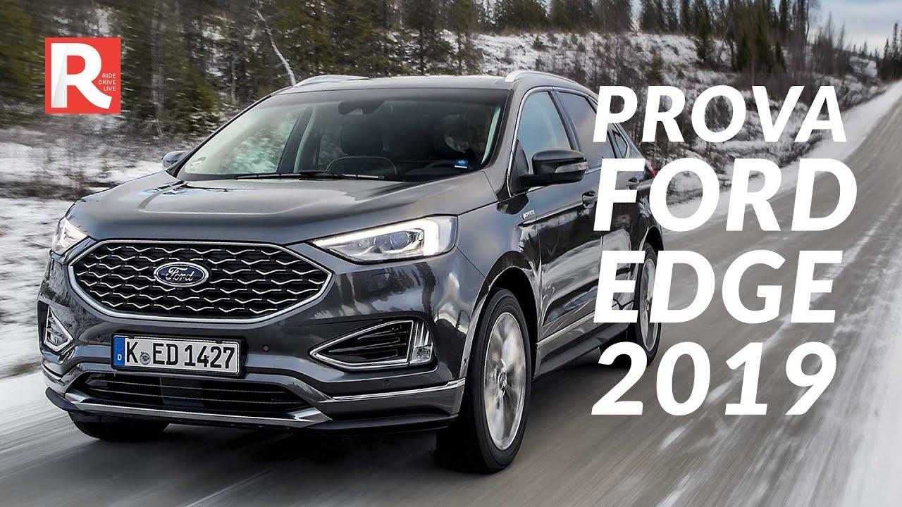 Ford Edge  La Prova In Svezia Su Neve E Ghiaccio