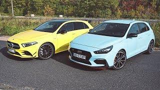 Hyundai i30 N Performance vs Mercedes A 35 AMG