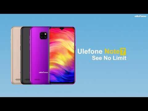 Ulefone Note 7 3000 рублей. Aliexpress. Gadget News