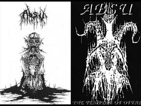 ABSU  1991 The Temples Of Offal USA FULL DEMO  MetallicoSick