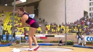 2013 Womens Discus throw IAAF Diamond League Monaco