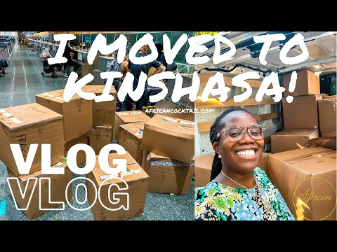 Boston to Kinshasa MOVING VLOG   COVID Testing, Shopping At The Turkish Airport + So Many Boxes!