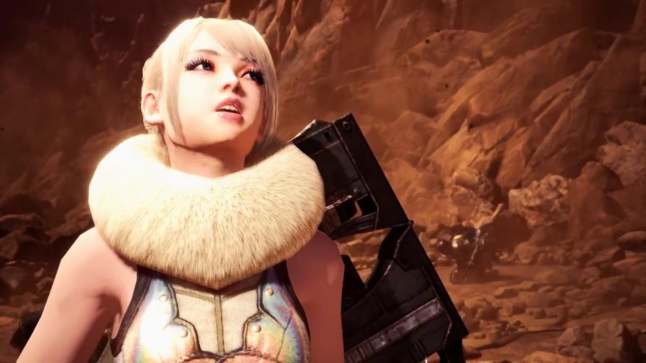 MHW MOD 4: 受付嬢の美人化、 プレイヤーの蜜虫テイルスカート、NPCのユラユラフェイク、Reshade モンハンワールド