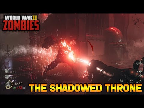 WW2 ZOMBIES - FULL SHADOWED THRONE EASTER EGG GUIDE WALKTHROUGH!! (Call of Duty WW2 Zombies)