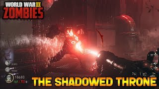 WW2 ZOMBIES - THE SHADOWED THRONE MAIN EASTER EGG BOSS FIGHT!! (Call of Duty WW2 Zombies)
