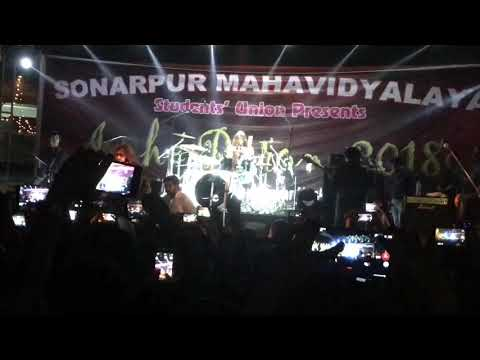 Tanmoy Das Drums | Fossils Live | Sonarpur