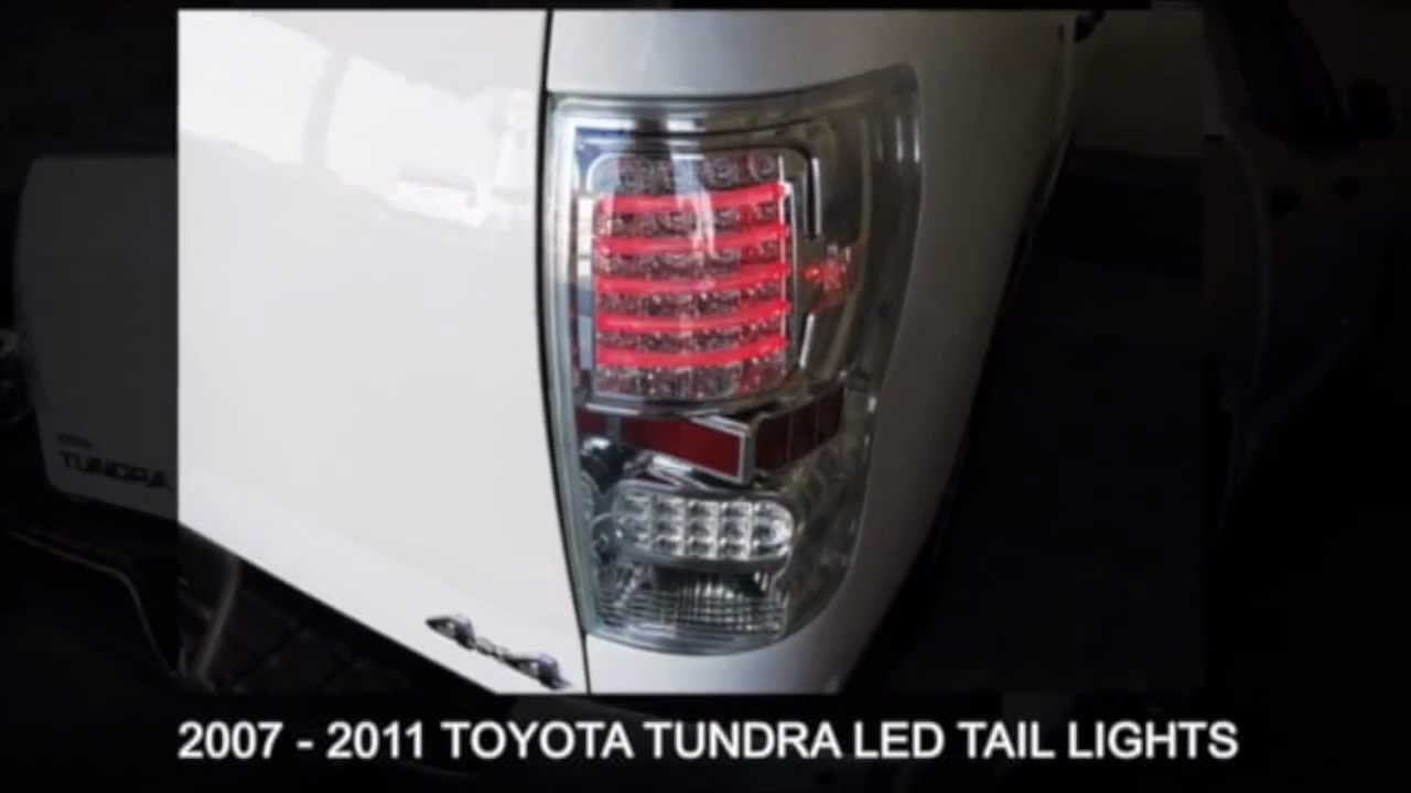 Toyota Tundra 2007 2011 Led Aftermarket Tail Light
