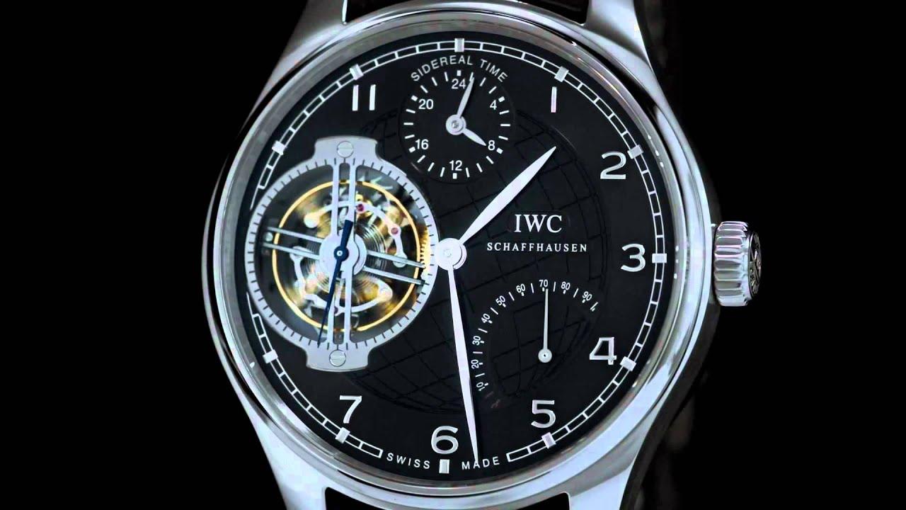 IWC Portuguese Sidérale Scafusia watch replica