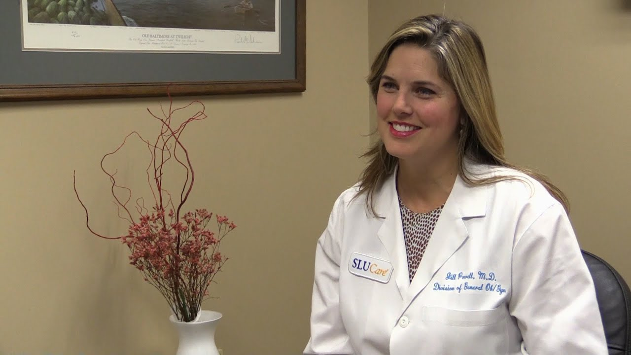 Dr  Jill Powell, SLUCare OB/GYN
