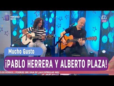 ¡Momento romántico con Pablo Herrera y Alberto Plaza! - Mucho gusto 2018