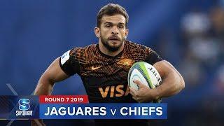 jaguares v chiefs super rugby 2019 rd 7 highlights