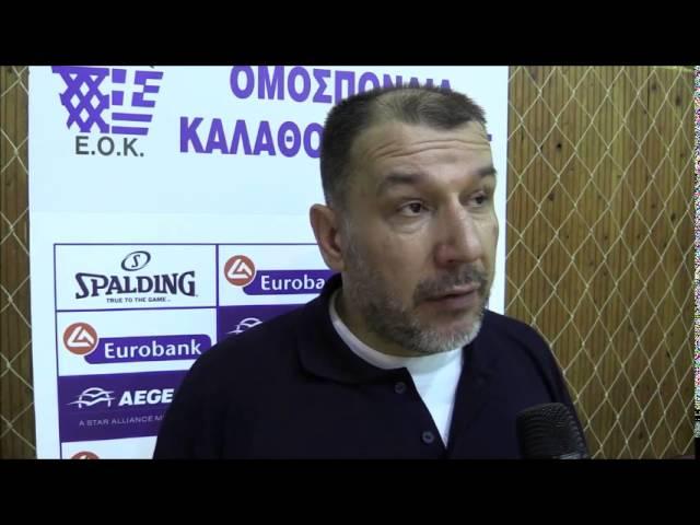 HellenicBF Video : Δηλώσεις των πρωταγωνιστών μετά τον αγώνα  ΠΑΟΚ - Ίκαρος Καλλιθέας 58-73