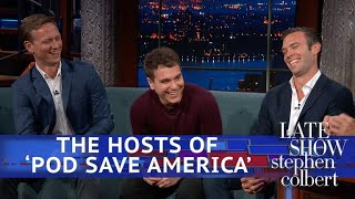 Pod Save America Hosts: They Should Be Afraid Of Omarosa