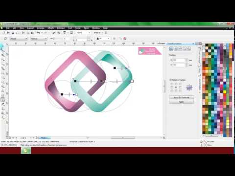 This video is tutorial on How to create 3D Glass Window Logo Design. Software I use is CorelDraw and.