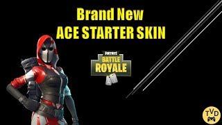 'Brand New' Ace Starter Skin- Snipe Show (Fortnite)