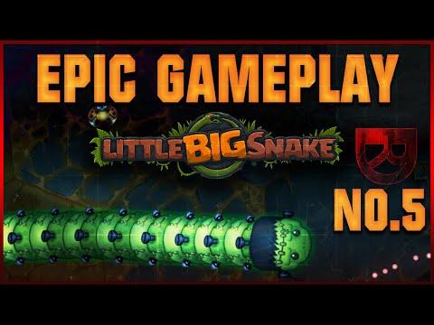Epic! Over One Million points / 176K mass Little Big Snake game!