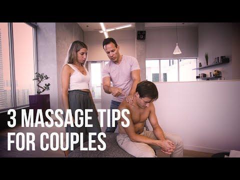 3 Beginner Massage Tips For Couples