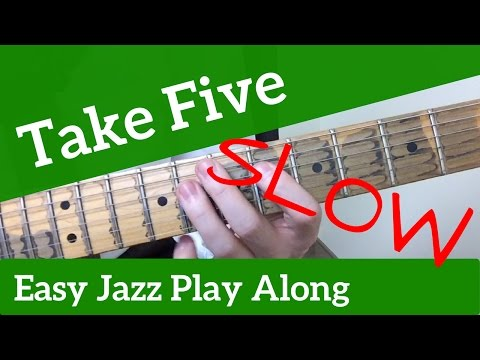 Take Five (Slow) | EASY Jazz Play Along | Dave Brubeck