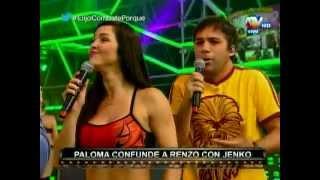 COMBATE: Paloma Fiuza se queja de Renzo Schuller