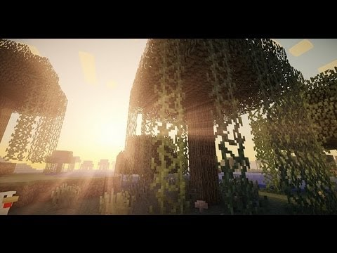 minecraft lb photo realism with shaders mod 1 5 2 on amd 7970 youtube