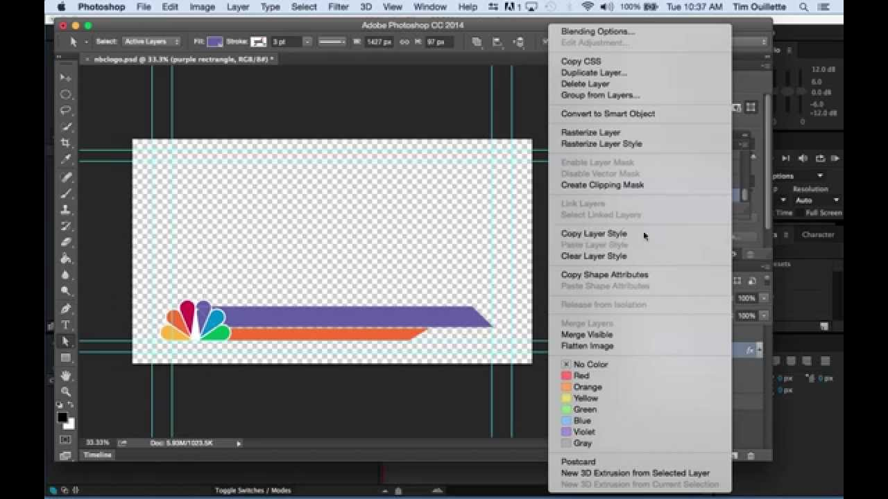 Quick Lesson On How To Make Lower Thirds In Photoshop And After Effects