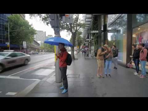 Sydney Video Walk 4K - Walking Around UTS Spring 2017