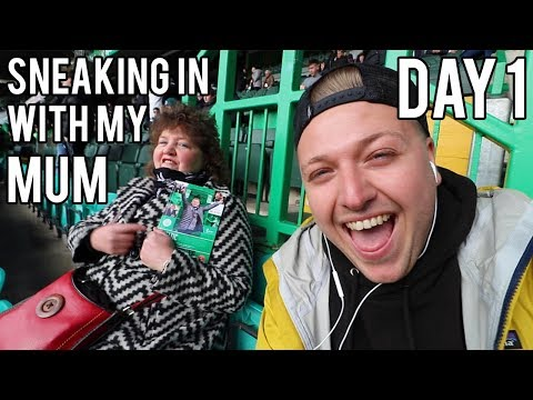 NO MONEY WITH MY MUM IN SCOTLAND - DAY 1