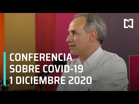 Conferencia Covid-19 en México - 1 de Diciembre 2020