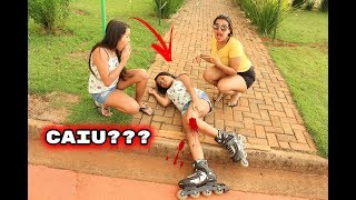 ANDAMOS COM O PATINS GIGANTE DO NOSSO PAI !! Parte 2 thumbnail