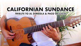 CALIFORNIAN SUNDANCE - Ben Woods Signature Guitars by Ortega