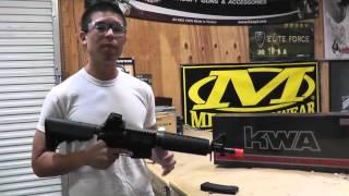 Airsoft Gi Uncut - Kwa Full Metal Km4 Commando Aeg Airsoft Gun