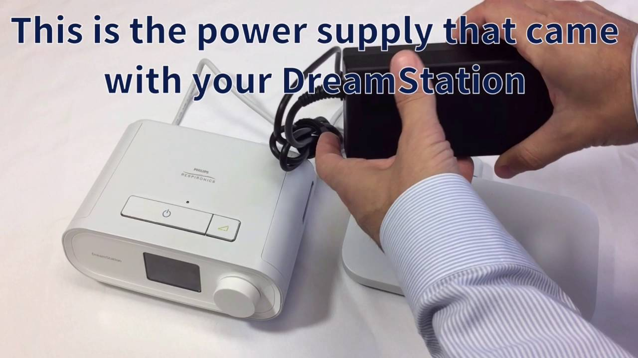 DreamStation and Battery