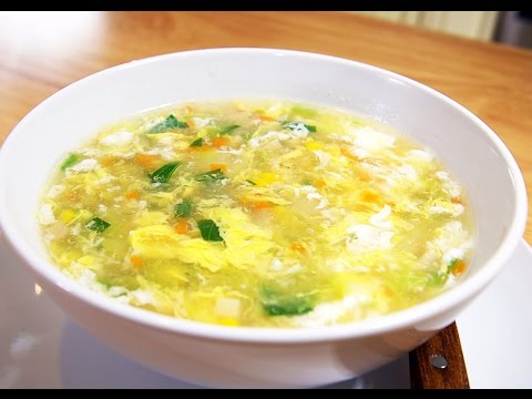The Ultimate Vegetable Egg Drop Soup Recipe, CiCi Li - Asian Home Cooking Recipes