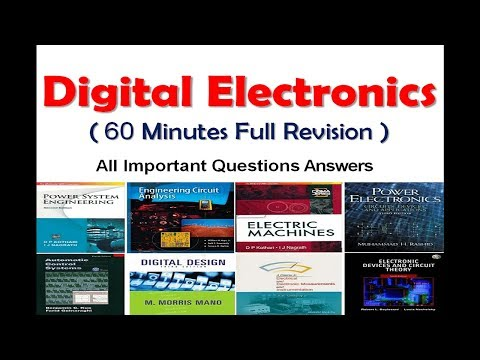 Digital Electronics revision in 60 minutes with most important questions - Electrick World