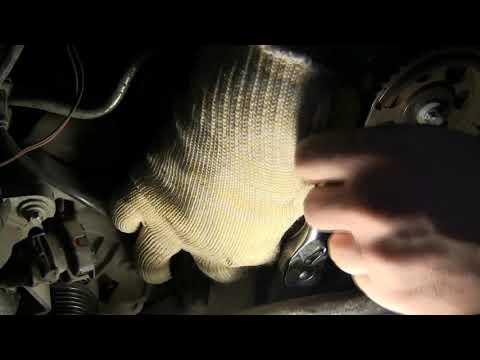 Фото к видео: Замена ремня ГРМ OPEL Vectra B