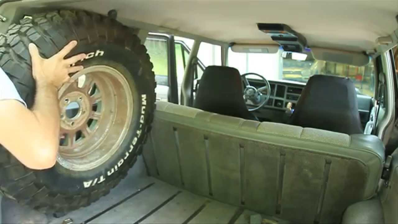 How To Fit A 31 Quot Spare Tire In Your Jeep Cherokee Youtube