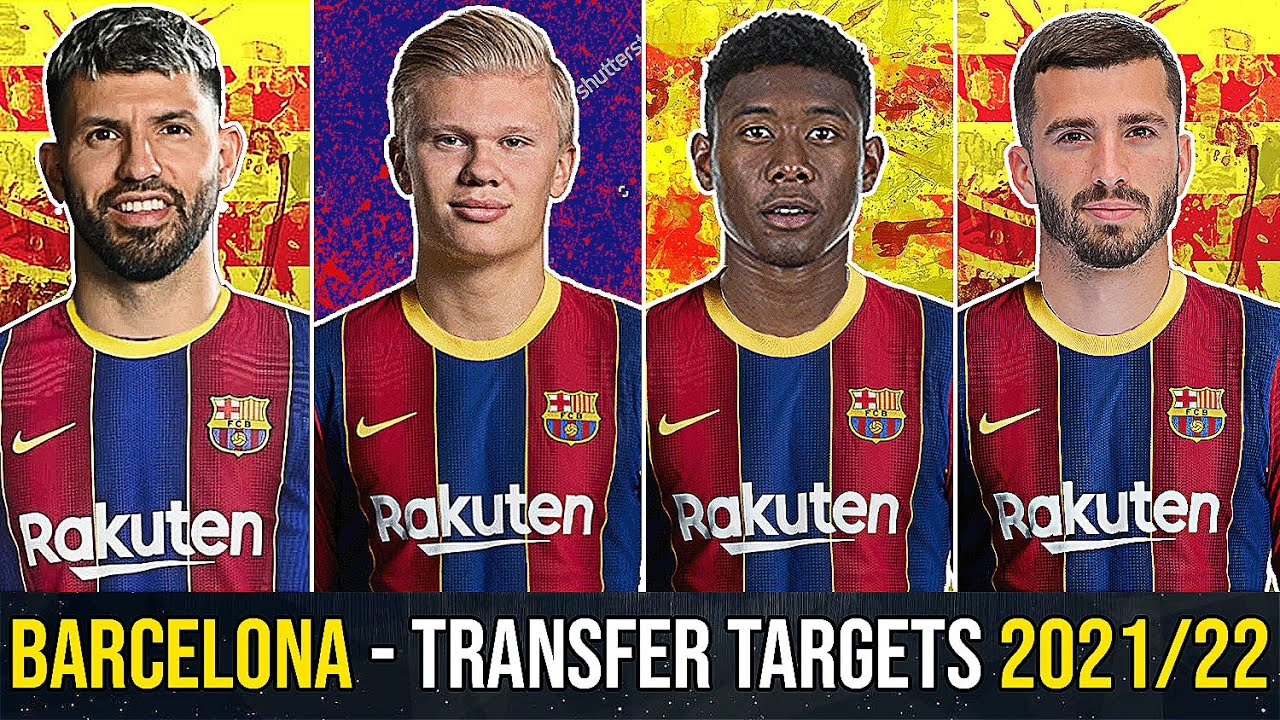 Download BARCELONA - Every Transfer Target For Next Season! (2021/22) ft. Haaland, Depay, Aguero, Gaya, Alaba